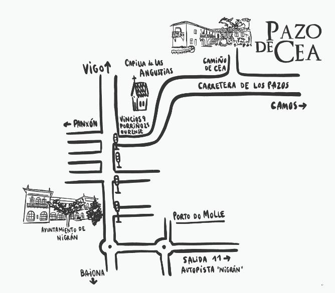 Mapa Pazodecea